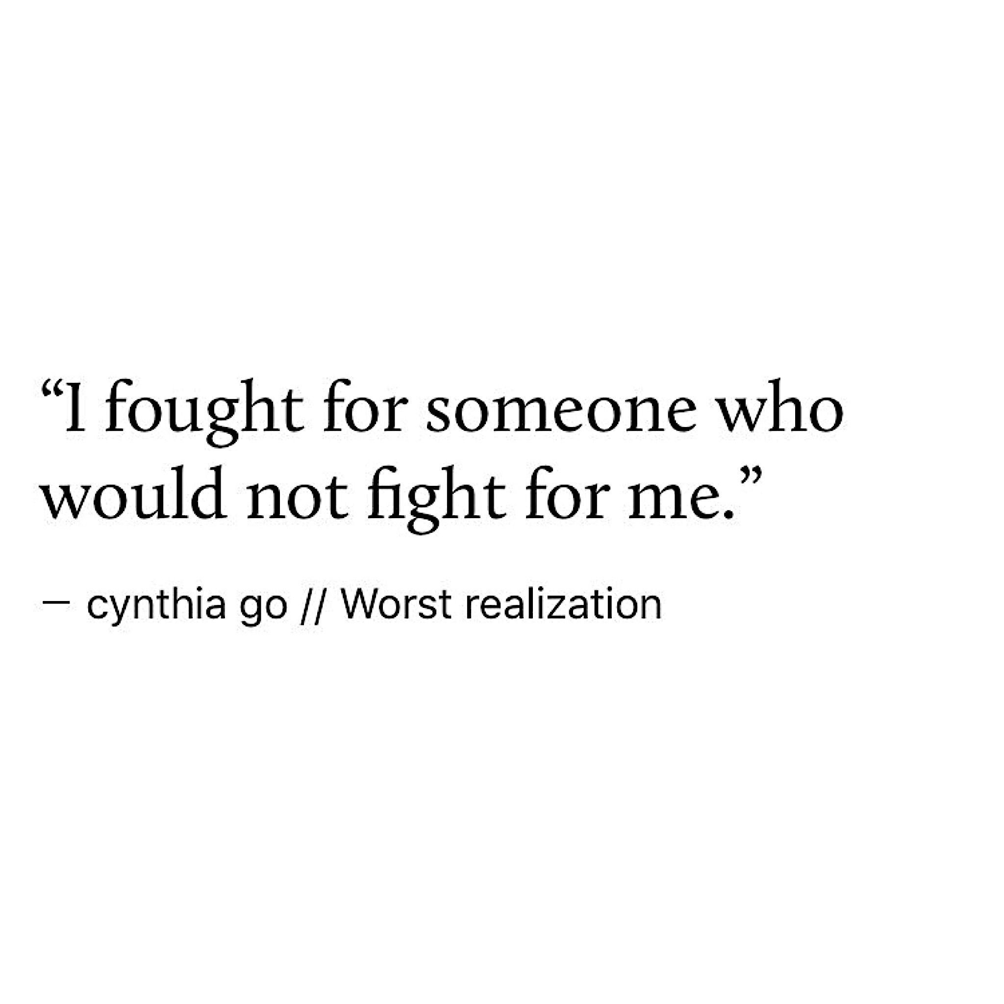 Worst realization Quotes BetrayalBad Breakup