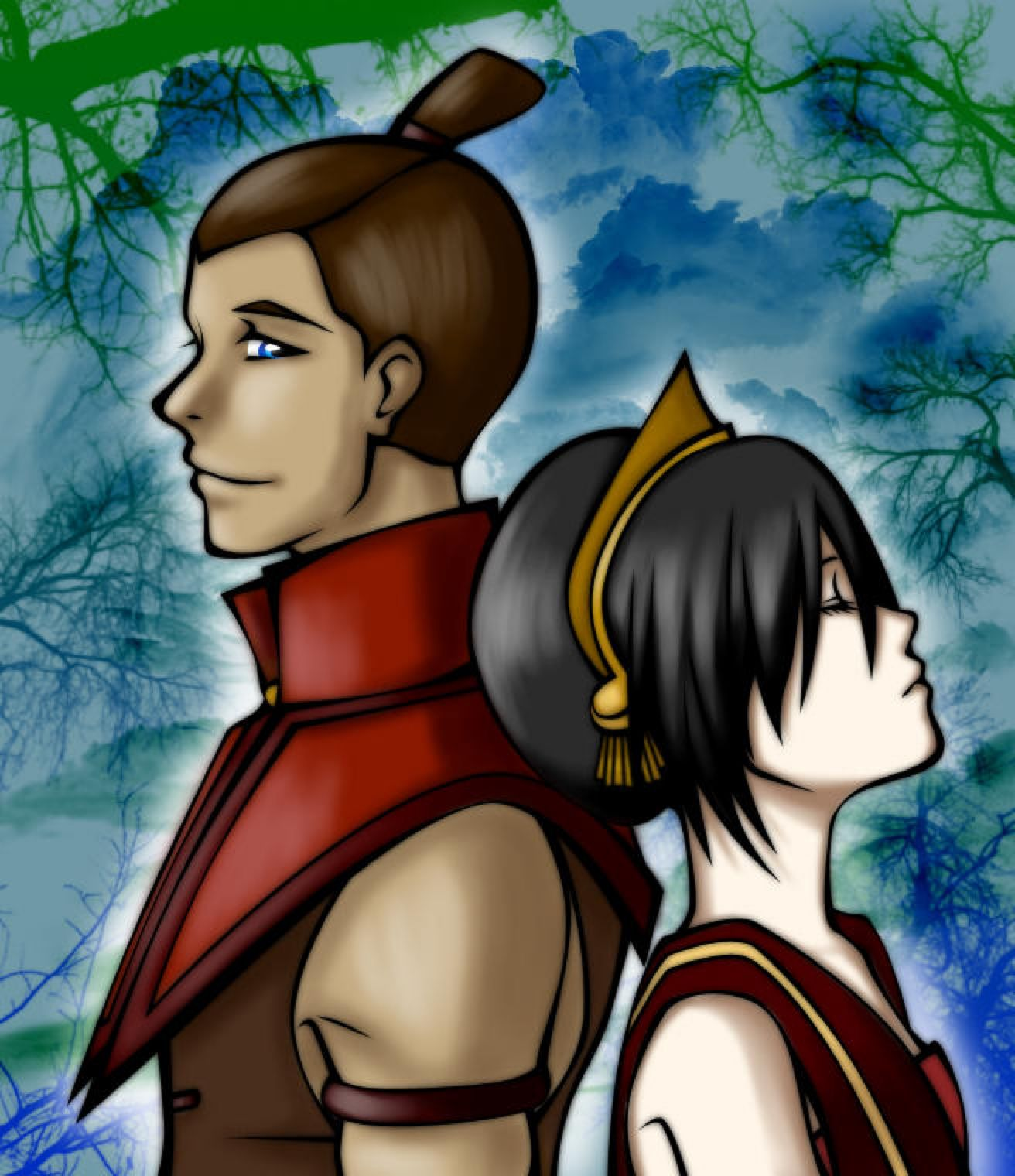 Toph and Sokka by some1ders13 on DeviantArt (With images