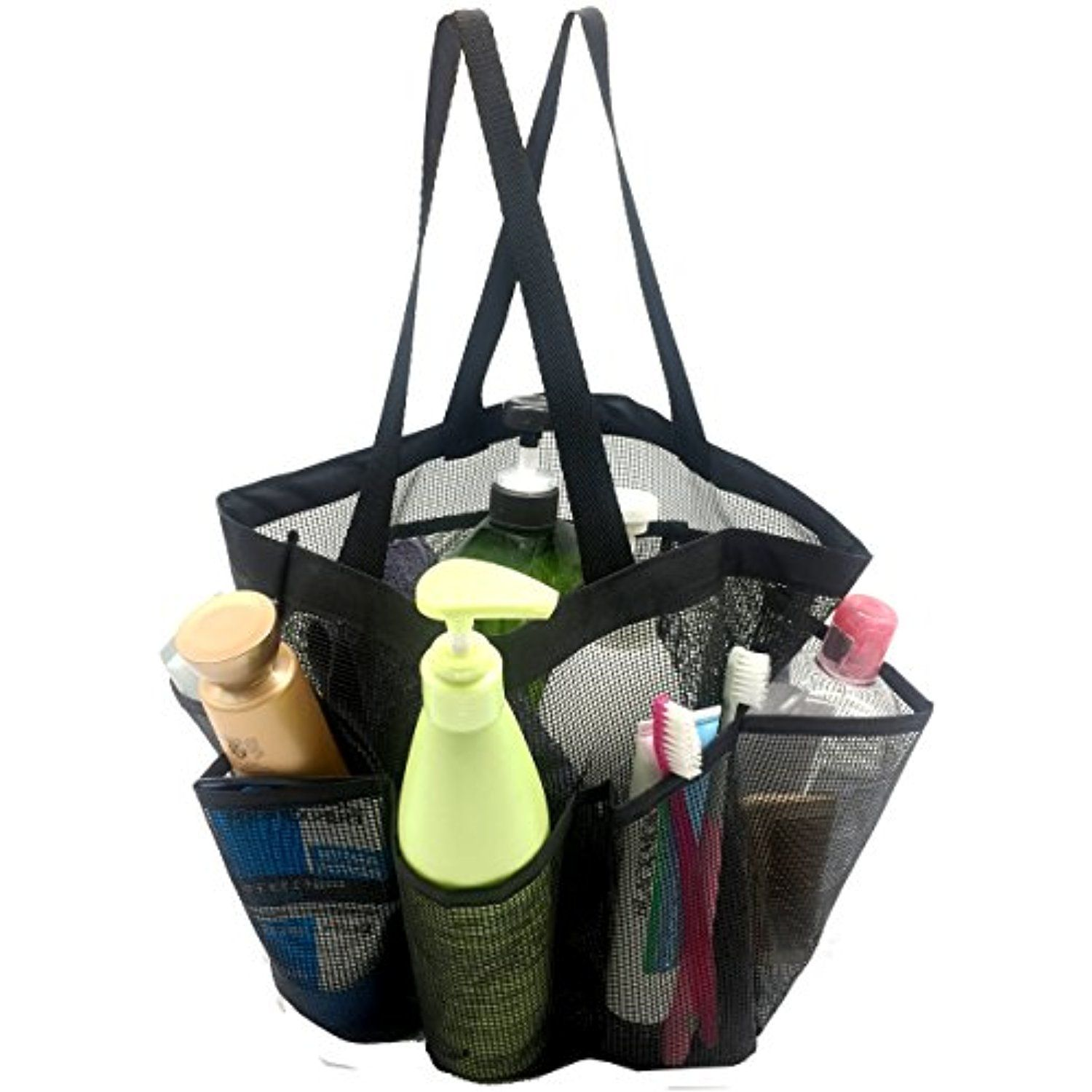 Mesh Shower Caddy,Quick Dry Hanging Toiletry and Bath Organizer with ...
