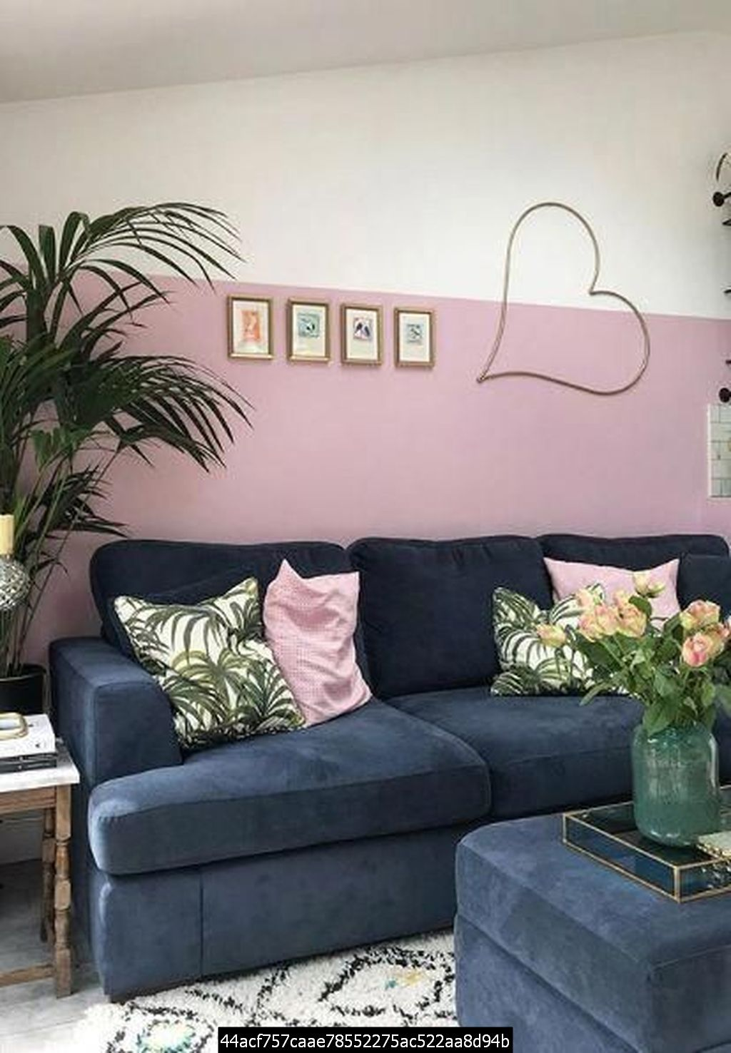 49 Charming Pink Living Room Design Ideas For Your Daughter In 2020 Pink Living Room Decor Navy Living Room Decor Pink Living Room #pink #and #blue #living #room #ideas