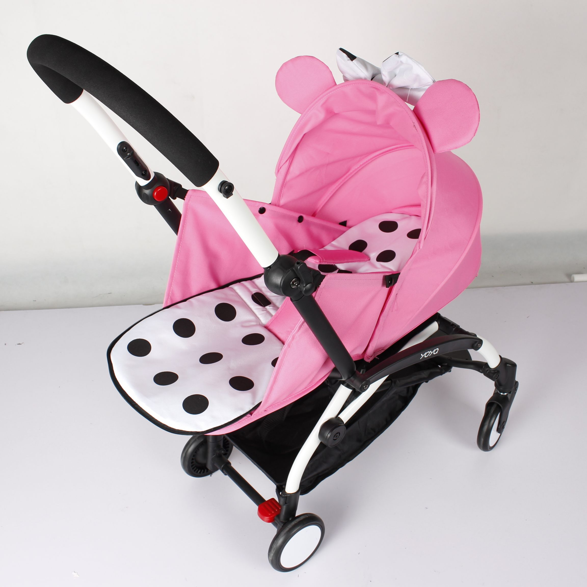 Minnie Newborn Sleeping Basket For YOYA YOYO Baby Stroller Prams ly Kid Carriage Pushchair Sleeping bag