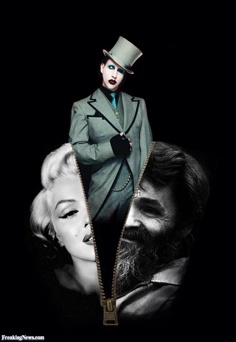 Wallpapers Y Imagenes De Marilyn Manson Trucco Sbalorditivo