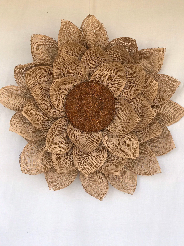 Photo of Sunflower wreath, flower wreath