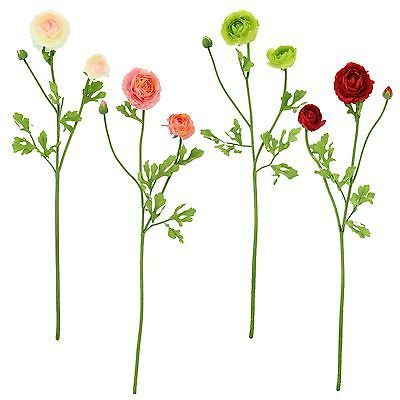 Chang silk flowers the best flower of 2018 3 head soft touch ranunculus spray artificial silk flowers stem mightylinksfo