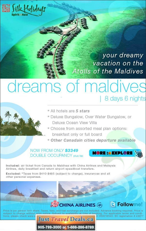 Maldives Vacation Packages All Inclusive Maldives Vacation