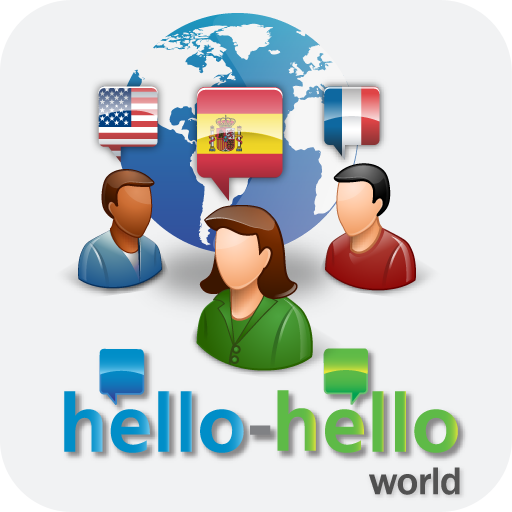 Hello-hello World - language learning app combined with social networking.