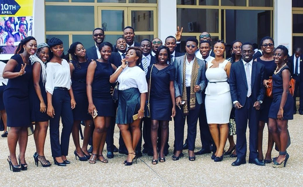 "fckyeahprettyafricans: ""University of Ghana School of Law Final year students #Ghana Submitted by ashadeofablue.tumblr.com """