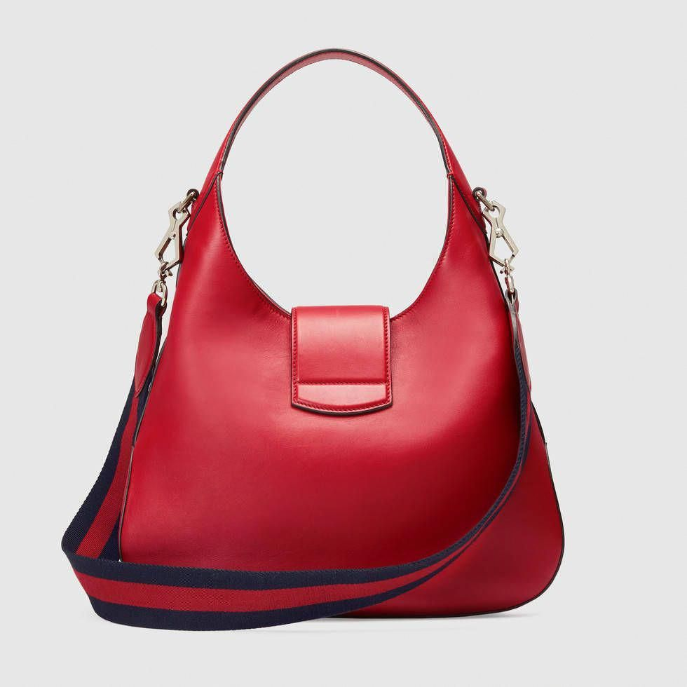Dionysus embroidered medium leather hobo  Guccihandbags  70a81d8f696