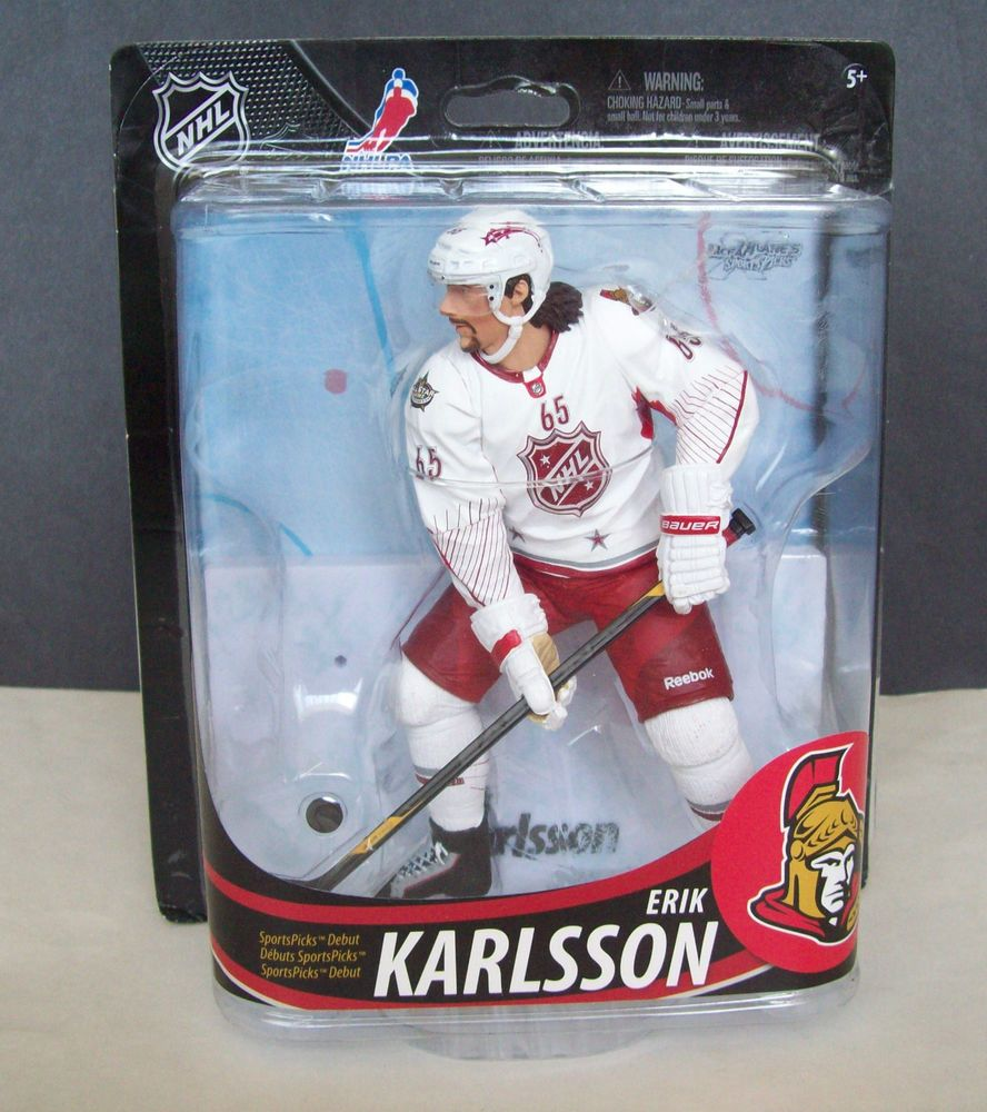 Mcfarlane NHL 33 Senators Sens Erik Karlsson Figure Wearing 2012 All-Star Jersey #McFarlaneToys