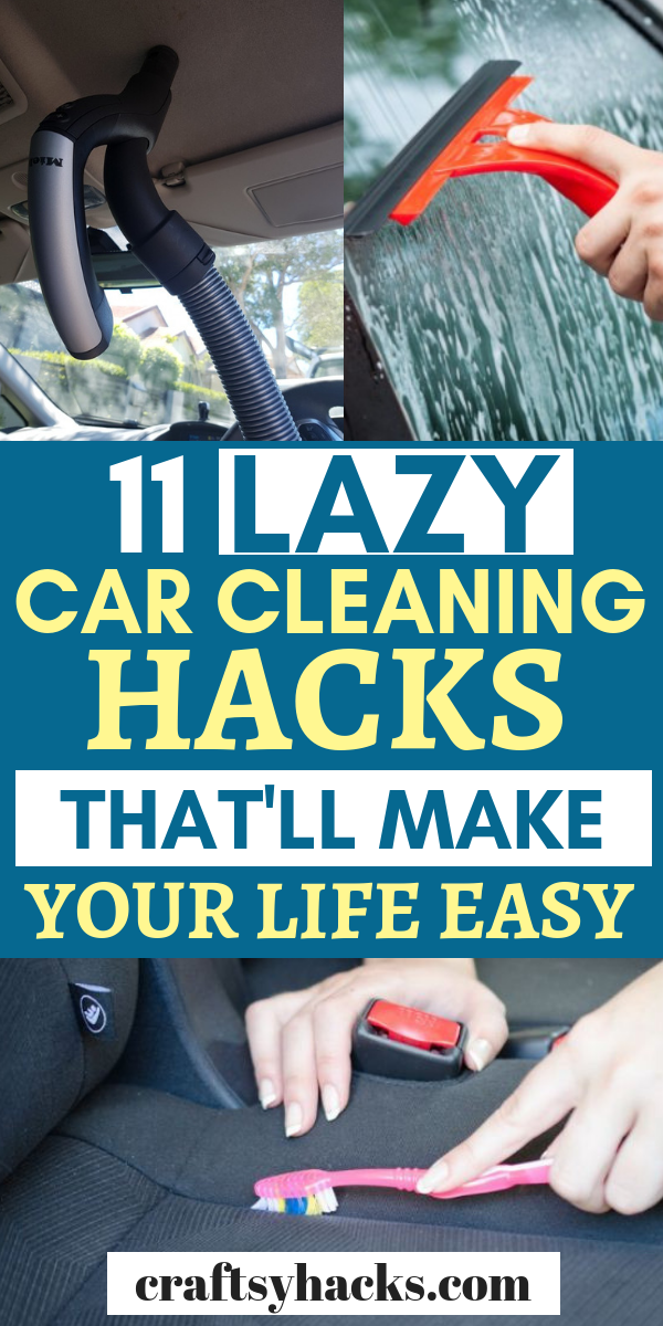 11 Lazy Car Cleaning Hacks That'll Make Your Life Easy