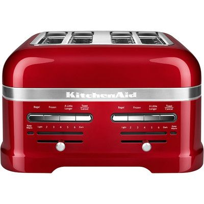 Kitchenaid Pro Line 4 Slice Automatic Toaster Color Kitchen Aid Red Appliances Toaster