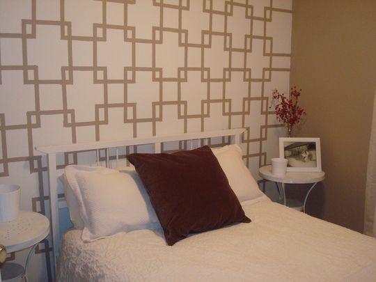How To Transform A Wall With Paint Idees Pour La Maison Maison