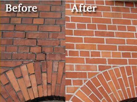 Tuckpointing 101 Learning From Chicago Brickwork Experts Brick Restoration Brickwork Brick