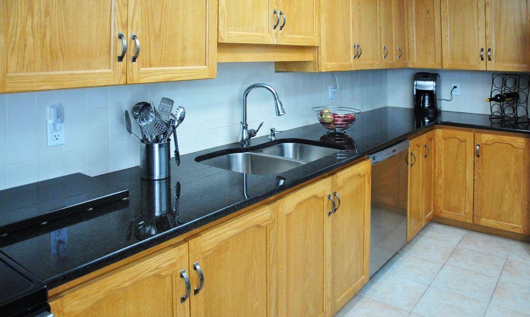 Brazilian Black Granite Countertops Color For Kitchen Granite Countertops Standard 11 Black Granite Countertops Countertops Granite Countertops Price