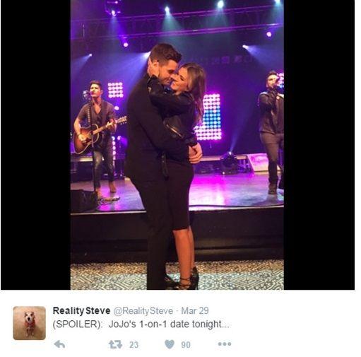 The Bachelorette Season 12 Spoilers JoJo Fletcher Kissed Luke