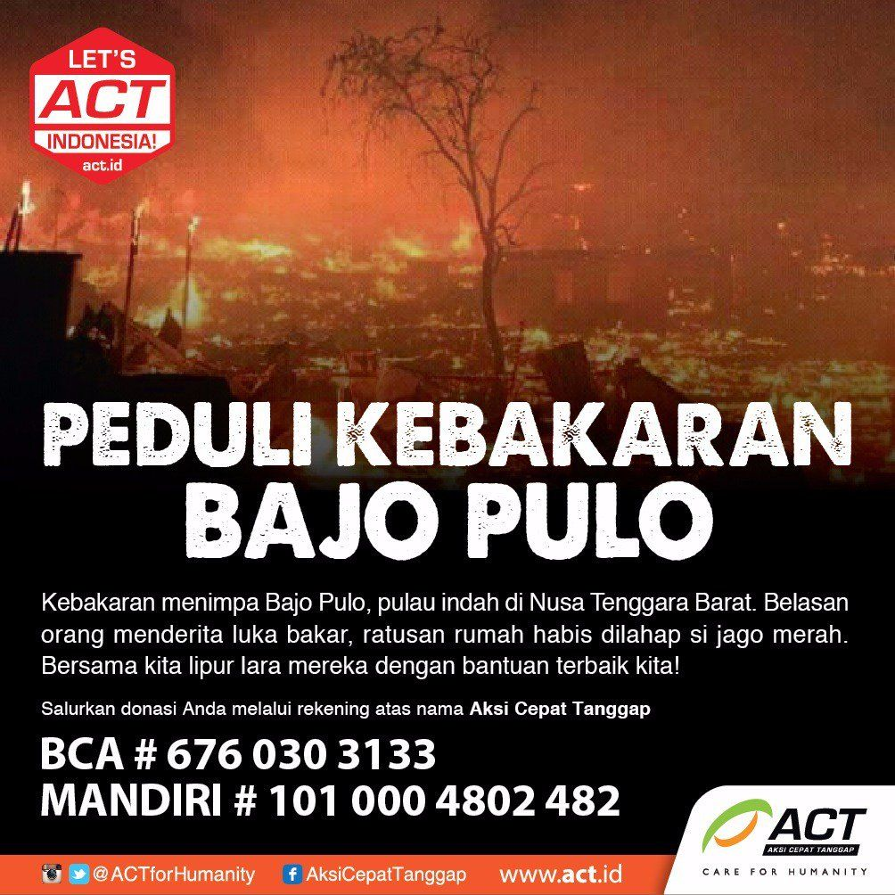 Photos and videos by LetsACTIndonesia! (ACTforHumanity