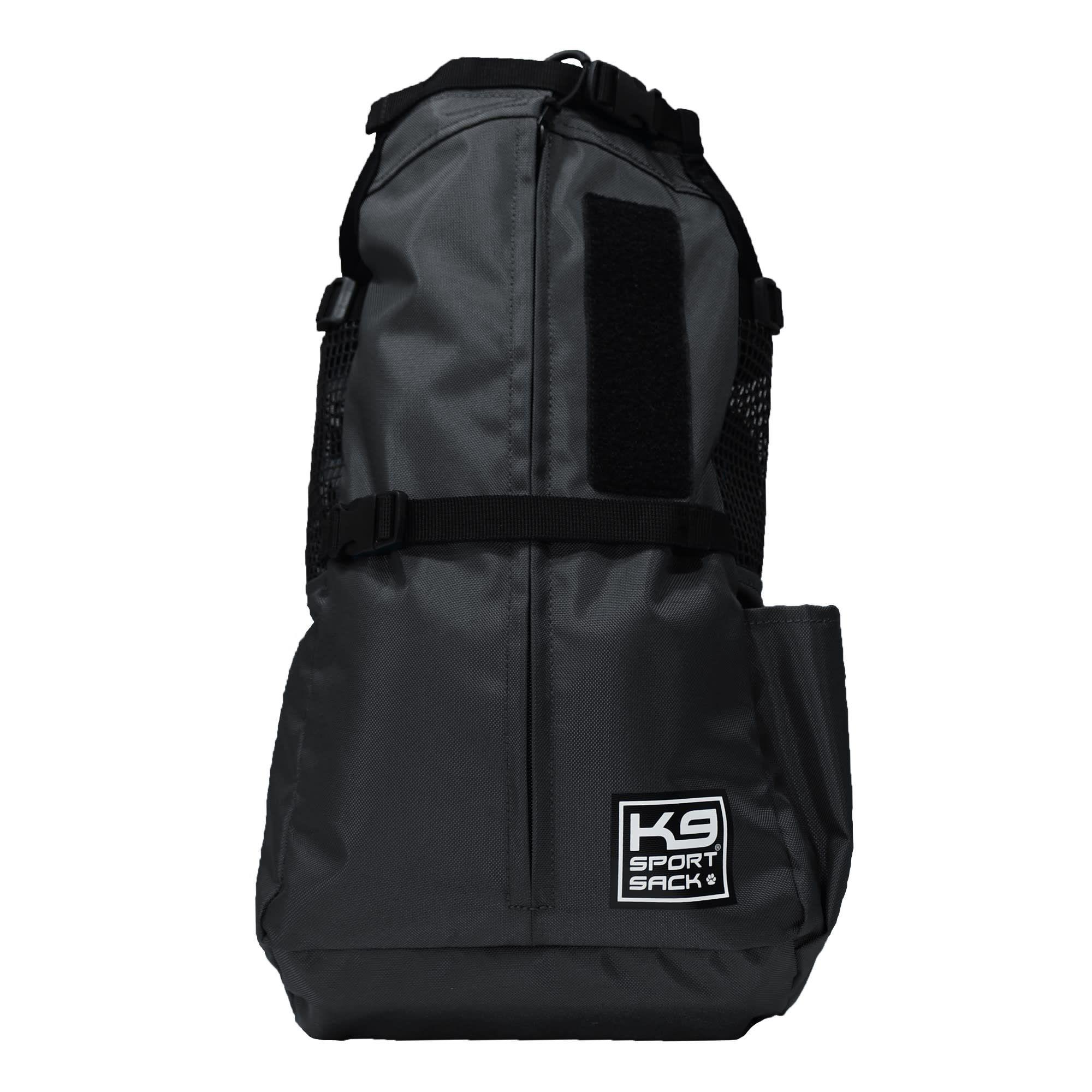 """K9 Sport Sack Air Trainer Black Backpack Pet Carrier, 9"""" L"""