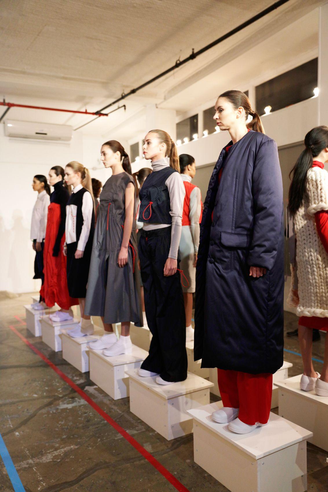 DAMNsel AW16 at New York Fashion Week. ph: Jan Luengo Mi.Magazine @damnsel2630