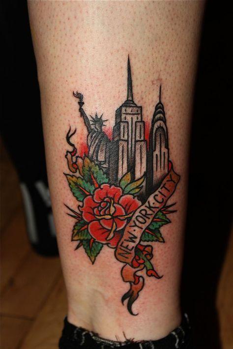 Pin By Claudia M On Ink Ideas New York Tattoo Nyc Tattoo Tattoos