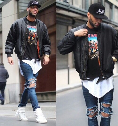 Urban fashion, street style, mens wear