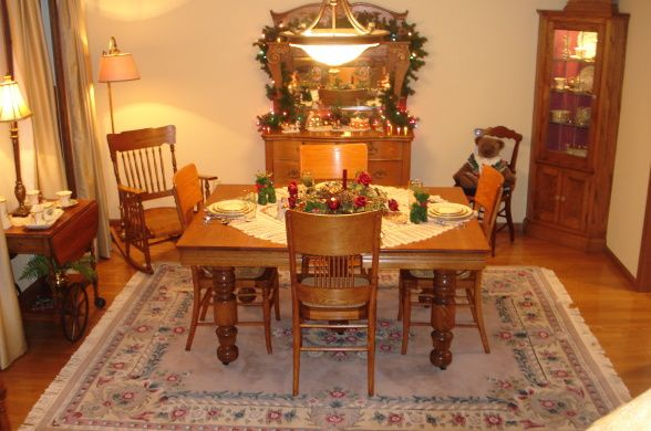 Victorian Decorating And Ideas Magazine Photos Country Dining Room I Was Thinking About Getting Parson