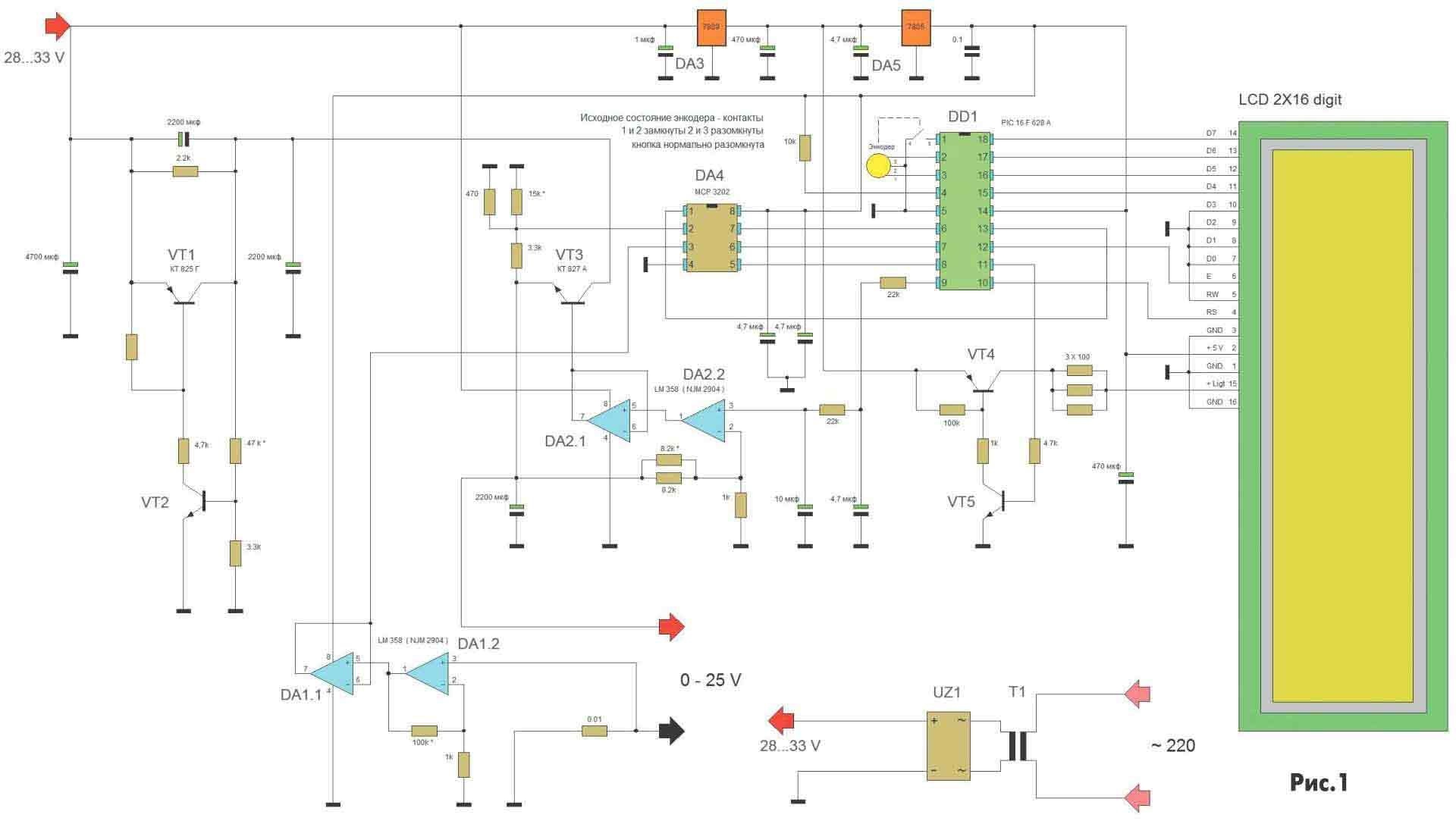 Dc Power Supply Regulator Using L200 Electronic Circuits And Diagramelectronics
