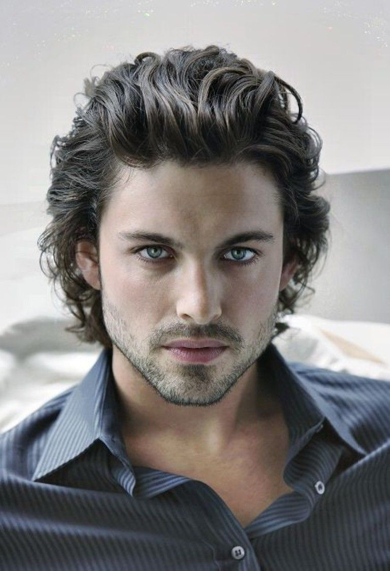 Hairstyles For Men With Curly Hair Long 8