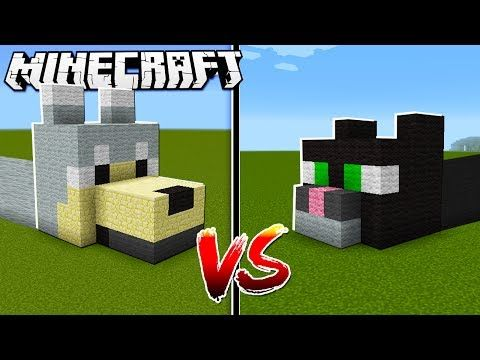 Dog House Vs Cat House In Minecraft Puppydoggythings How To