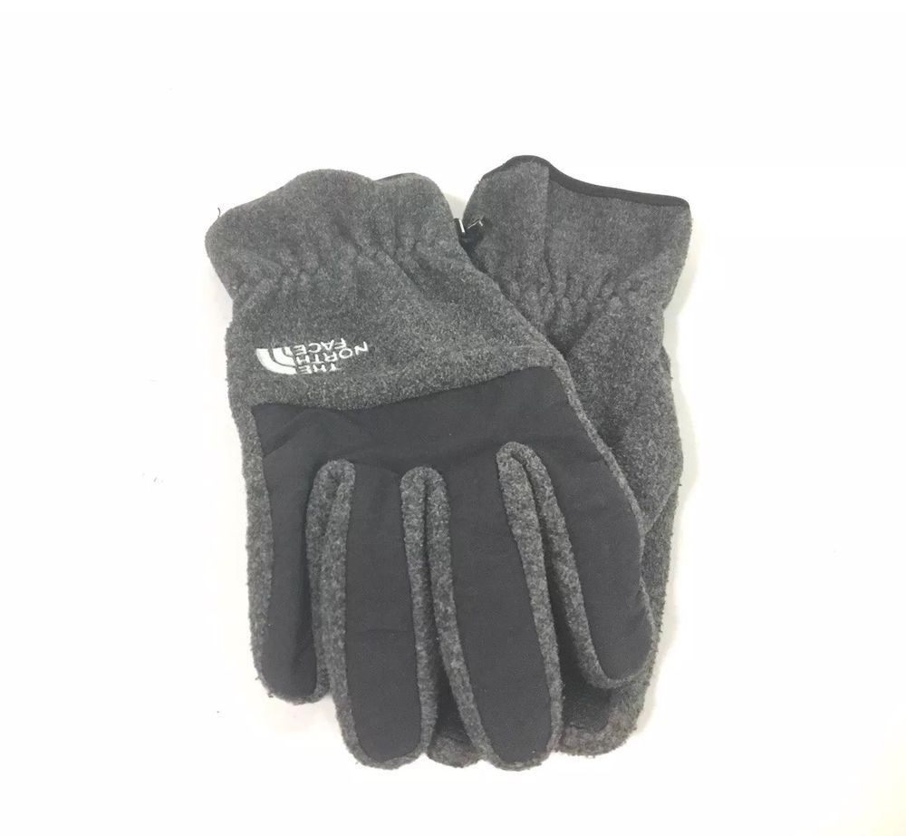 5dc7ff611 The North Face Men's Gloves Large Grey w/black winter gloves w ...