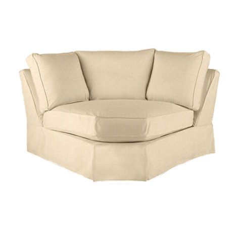 Baldwin Wedge Slipcover And Frame