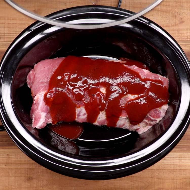 Baked Bbq Ribs With Dry Rub Bbq Sauce Recipe: Finger-Lickin' Slow Cooker BBQ Ribs