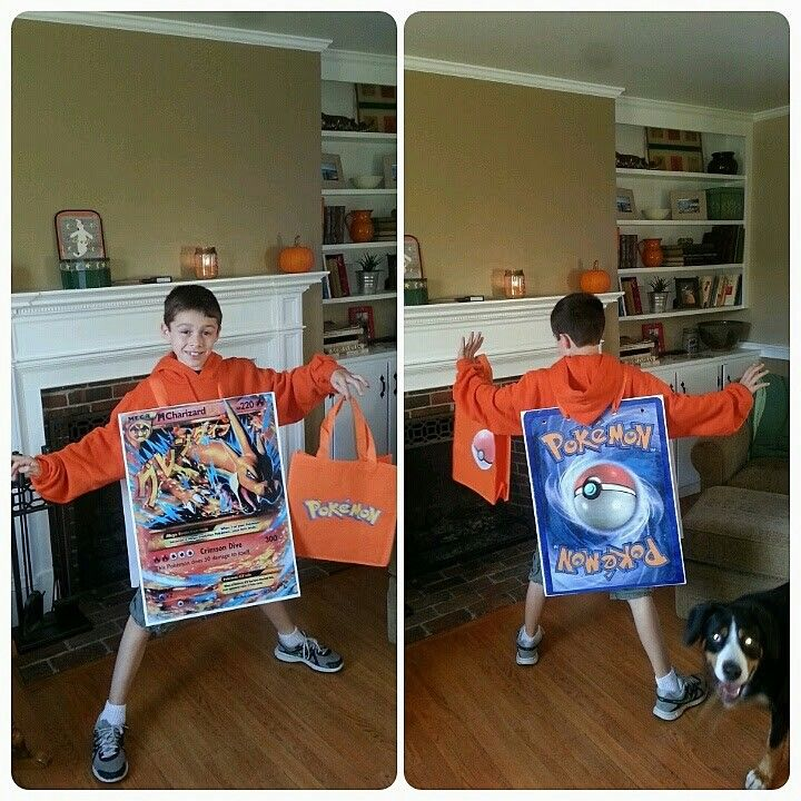 diy pokemon card halloween costume in 2019