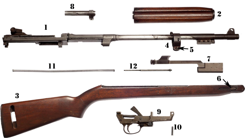 Disembly: U.S. Rifle M1 Carbine