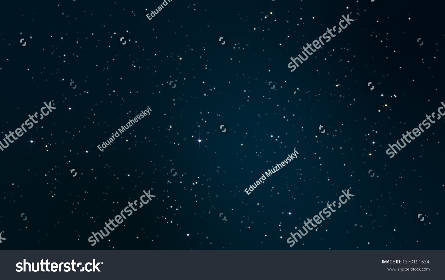 Night Starry Skies With Twinkling And Blinking Stars Abstract Dark 3d Illustration With Glowing Stars Or Parti Star Illustration Glow Stars Science Background