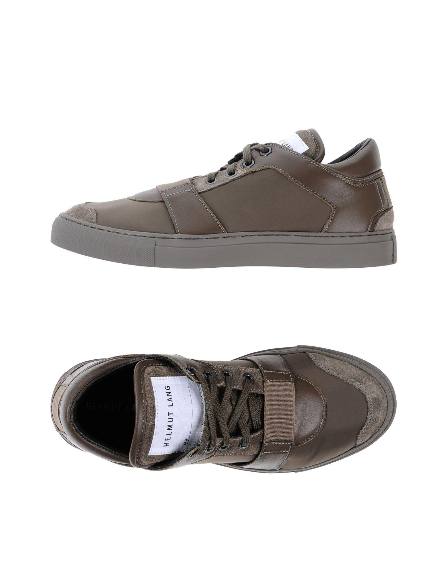 HELMUT LANG Низкие кеды и кроссовки | Sneakers, Light brown