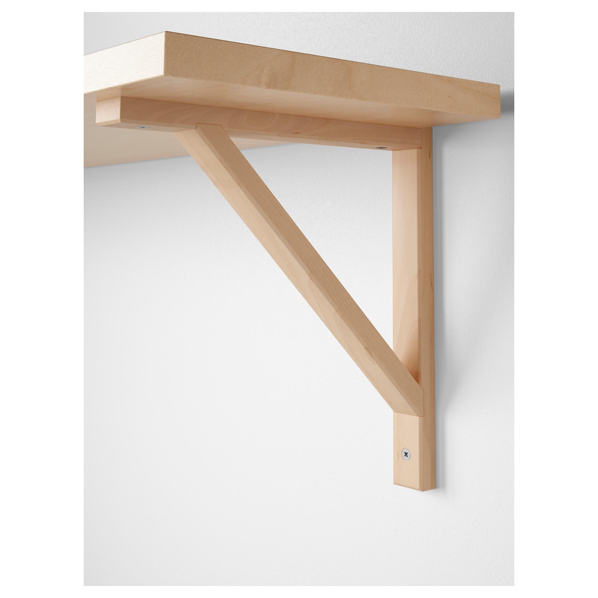 Ikea Us Furniture And Home Furnishings Ikea Ekby Wood Shelf Brackets Ikea Shelf Brackets