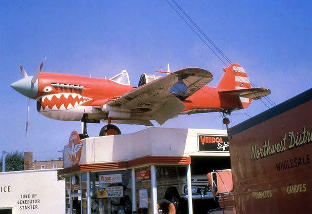 Strange Olde Gas Stations Everett Washington Flying A