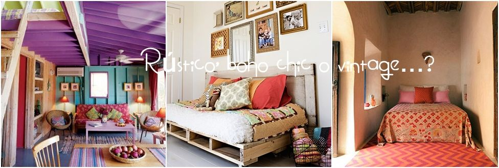 Decoracion vintage muebles con palets y reciclados ideas - Estilo vintage decoracion ...