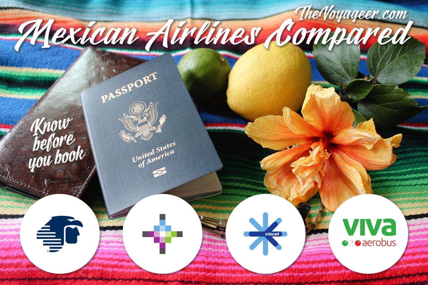Mexican Airlines Compared // The Voyageer Airline