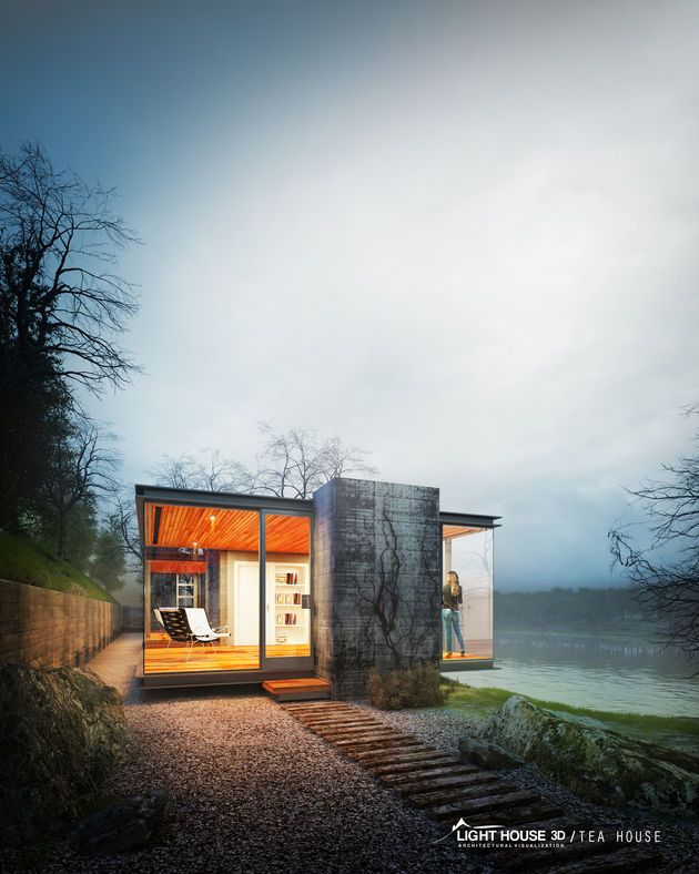 CGarchitect - Professional 3D Architectural Visualization User Community | Tea House by LIGHTHOUSE-3D