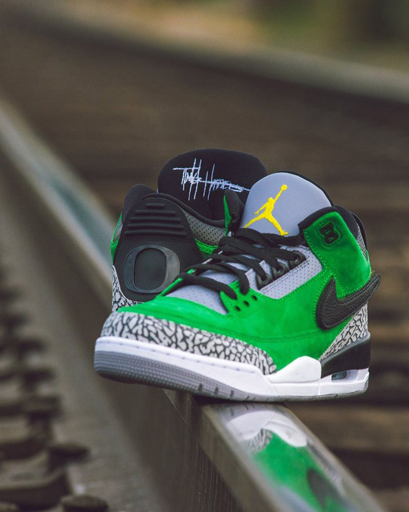 "6a70f878b42c This ""Tinker"" Air Jordan 3 Is University of Oregon s Best PE Yet ..."