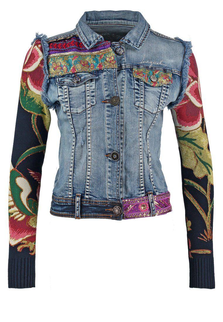 customiser une veste en jean fashion designs. Black Bedroom Furniture Sets. Home Design Ideas