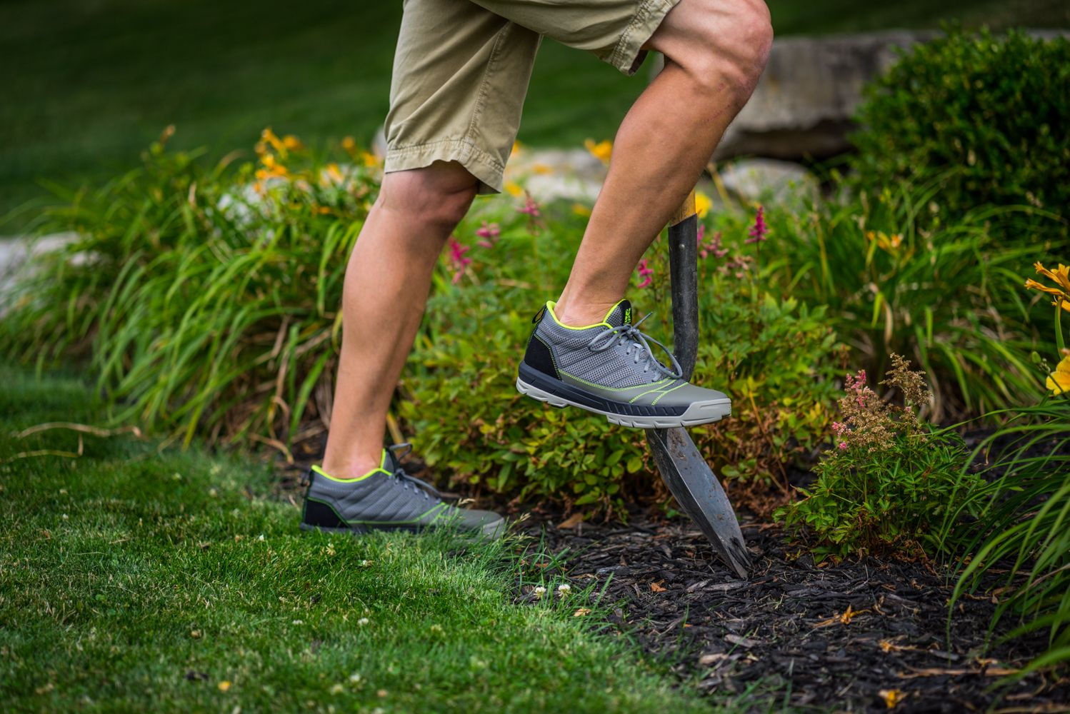 Cushioned Eva Midsole And Rubber Sole Make The Kujo Yardshoes Comfortable While Working In The Yard Most Comfortable Shoes Shoes Comfortable Shoes