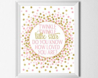 Nursery Prints Dream Big Little One You Are So Loved Pink And