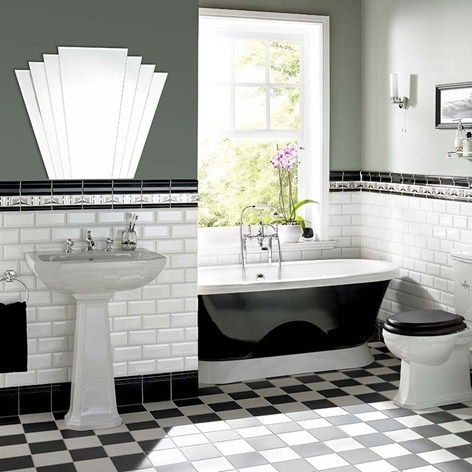 Chic Victorian Style Bathroom Wall Tiles About Home