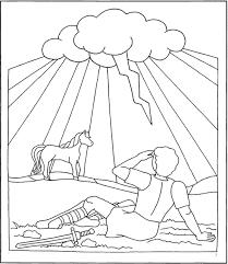 Resultado De Imagen Para Imagenes Para Colorear De Pablo Camino A Damasco Bible Crafts Sunday School Crafts Sunday School Preschool