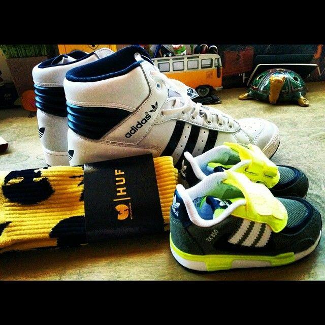 Adidas originals & huf wutang