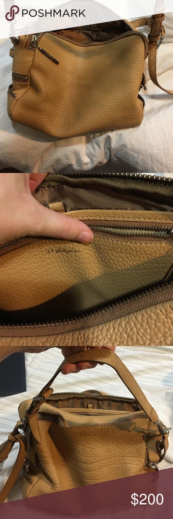 3.1 Phillip Lim handbag Tan, 3.1 Phillip lim handbag. Some signs of wear on metal and inside. 3.1 Phillip Lim Bags Crossbody Bags