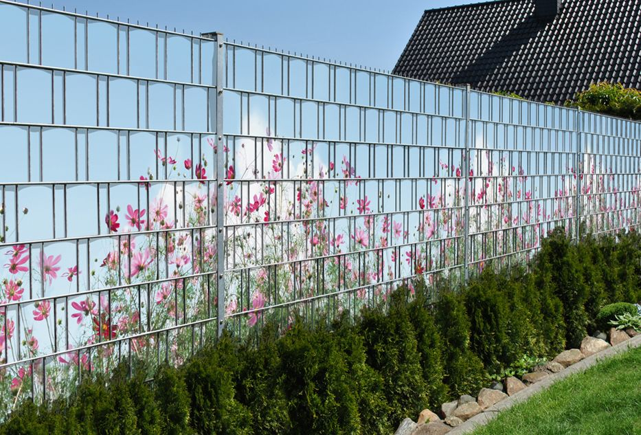 PVC Sichtschutzstreifen Zaunfolie Zaunblende Zaun Doppelstabmatten Sonnenschutz