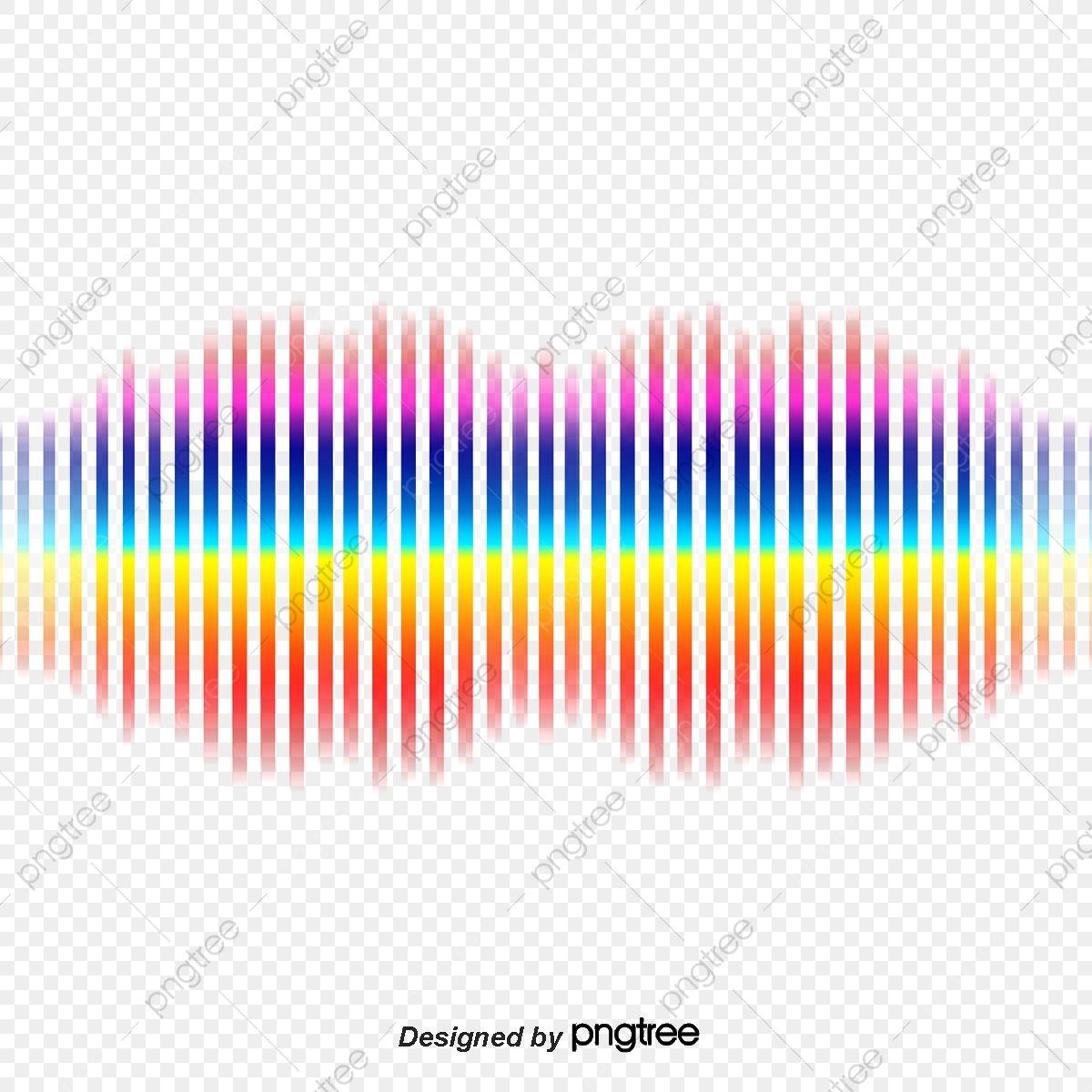 قوس قزح ناقلات منحنى الموجة الصوتية صورة بابوا نيو غينيا زاهى الألوان صوت صوت Png وملف Psd للتحميل مجانا In 2021 Clip Art Sound Waves Light Background Design